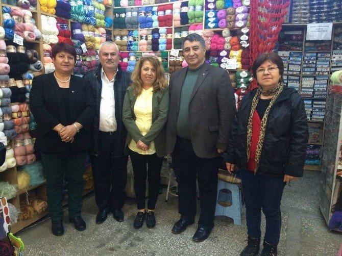 Eskişehir'de MHP Heyetinden Esnaf Ziyareti