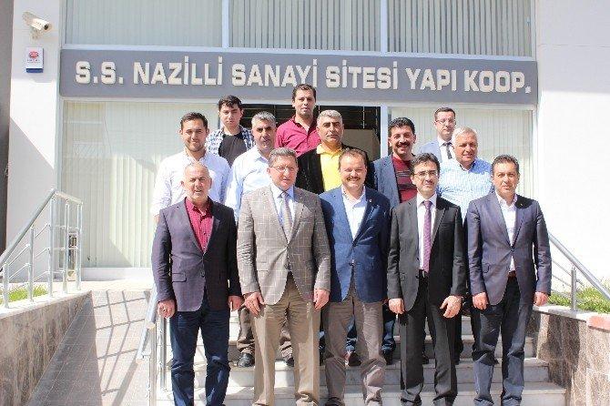 AK Parti'li Öz, Sanayi Sosyal Tesisleri Ziyaret Etti
