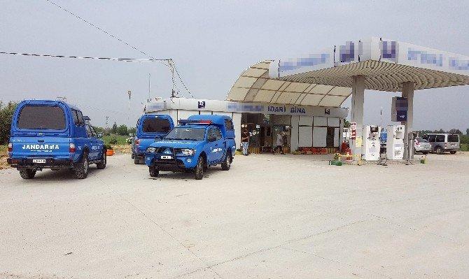 Pompalı Tüfekle Petrol İstasyonunu Soydu