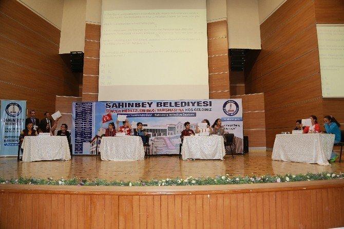 Şahinbey'in Öğrencileri Bilgi Yarışmasında
