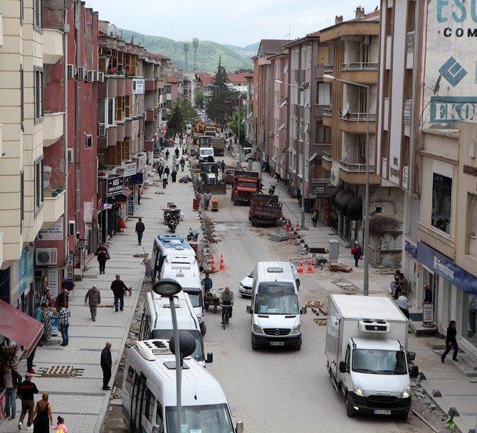 Şal Sokak 2. Etabı Trafiğe Kapandı