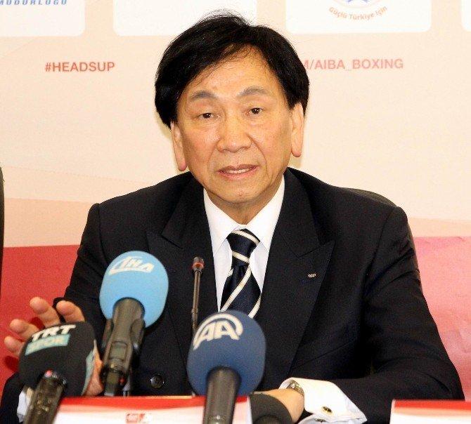 """Aıba Başkanı Ching-kuo: """"Olimpiyatlara Kadar Kotalarımızı Doldurmak İstiyoruz"""""""