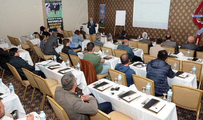 Aksaray'da Hayvan Üreticilerine Eğitim Semineri