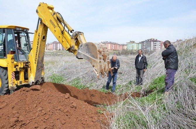 Elbistan'da Spor Salonu İçin Zemin Etüdü Yapıldı