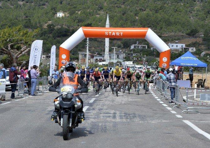 'Tour Of Mersin'de İkinci Gün Yarışları Tamamlandı