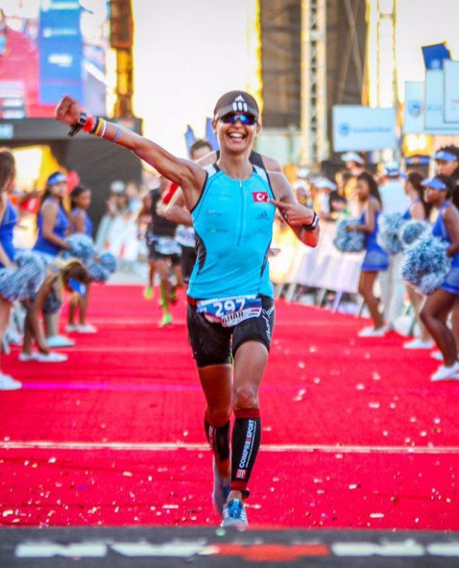Milli triatlet Bahar Saygılı'nın hedefi; dünya şampiyonluğu