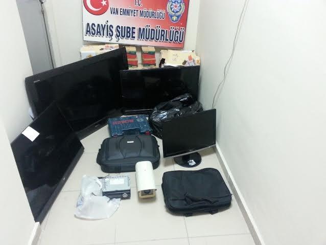 Hırsızlık operasyonunda gözaltına alınan 10 şüpheli tutuklandı