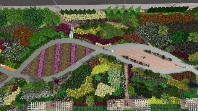 Botanik Park Projesi İçin Düğmeye Basıldı