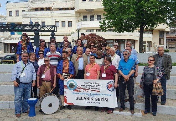Selanik'te Bilecik Rüzgarı Esti