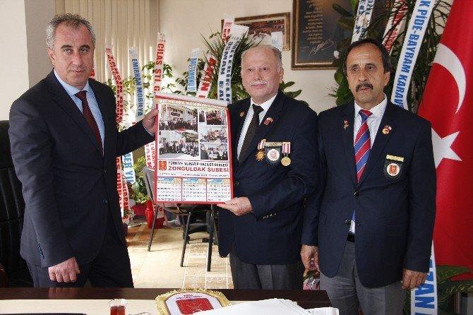 Gazilerden Karaveli'ye 'Hayırlı Olsun' Ziyareti