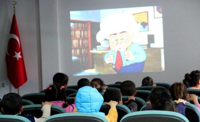 Minik Öğrencilerden AFAD'a Ziyaret