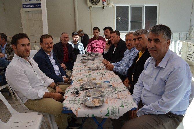 AK Parti'li Öz Nazilli'de Vatandaşlarla Bir Araya Geldi