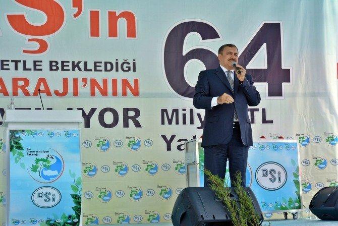 Bakan Eroğlu'dan, Akdenizli Çiftçilere Müjdeli Haber