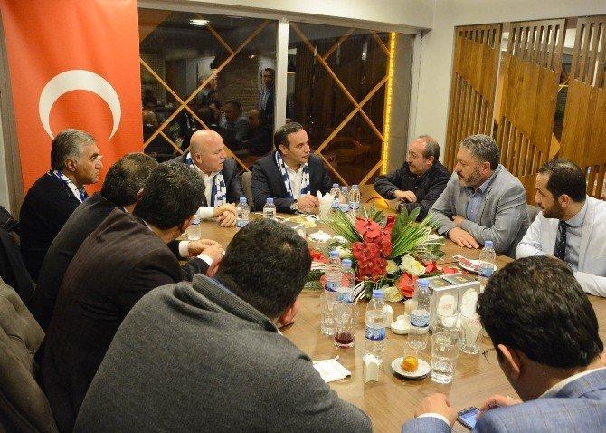 Memur-sen'den Bb Erzurumspor'a Moral Yemeği