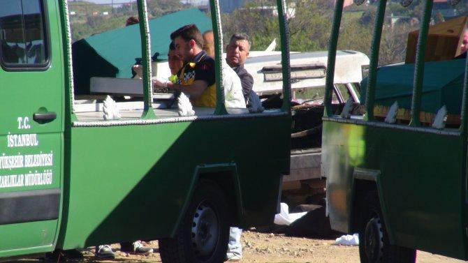 Şantiye yolunda can verdiler: 4 işçi öldü