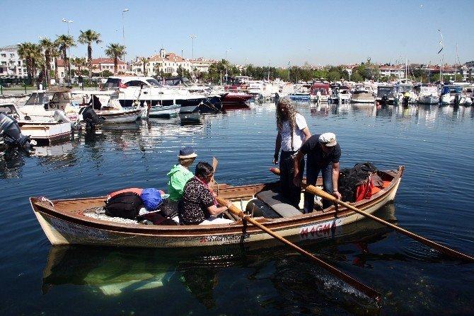 80 Yıllık Kayıkla İstanbul'dan Çanakkale'ye Kürek Çekecekler