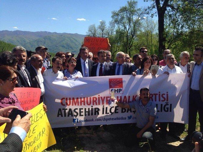 CHP İstanbul Teşkilatı Melen'i İnceledi