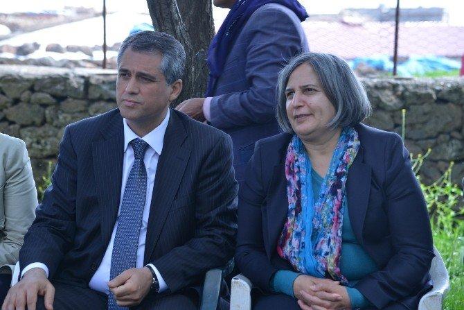 Eş Başkanlar Entegre Katı Atık Yönetim Tesisi İnşaatını Denetledi