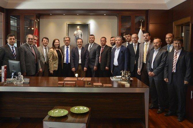 Emirdağlılar Başkan Ataç'ı Ziyaret Etti