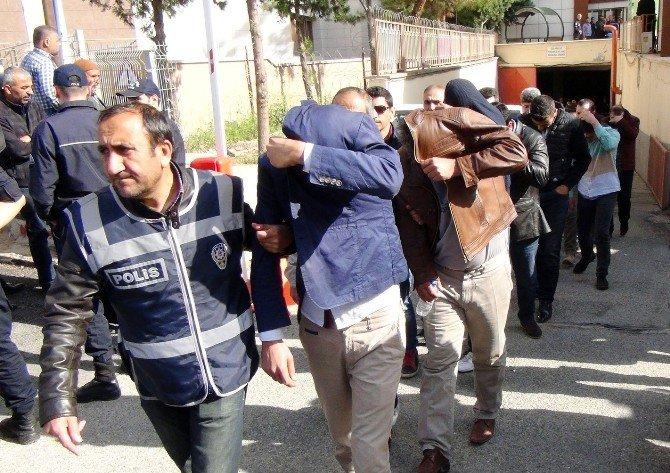 Gaziantep'te Dolandırıcılık Operasyonunda 23 Kişi Tutuklandı