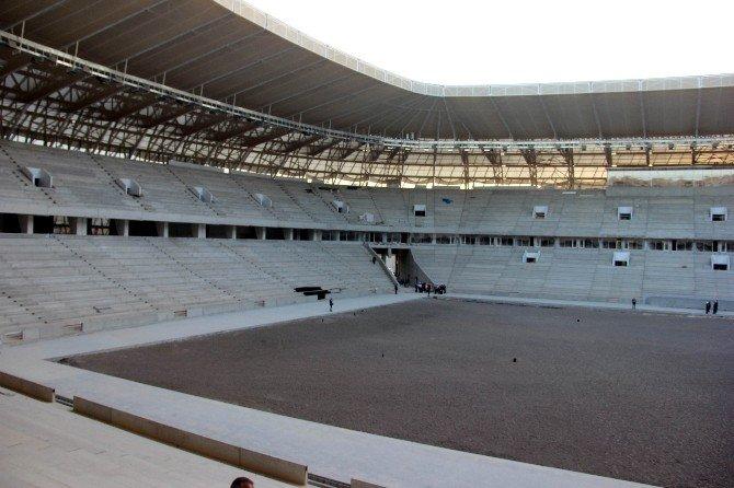 Bakan Kılıç, Gaziantep Arena Stadyumunda İnceleme Yaptı