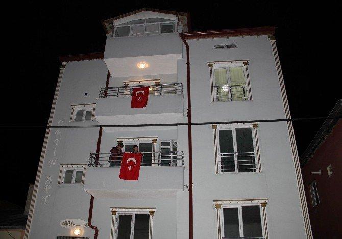 Sivas'a Şehit Ateşi Düştü