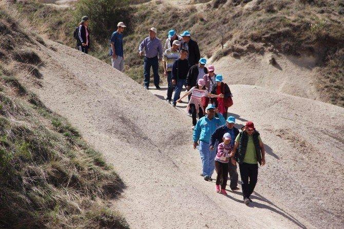 Kapadokya'da Yılın İlk Vadi Yürüyüşü Yapıldı