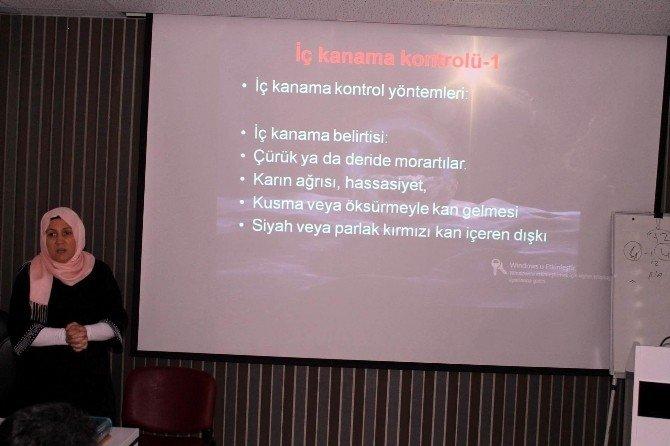 Kilis'te İş Sağlığı Ve Güvenliği Eğitimi