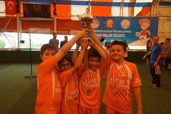 Körfez İlkokullar Arası Süt Kupası Finali Yapıldı
