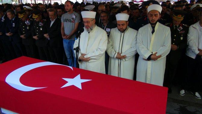 Savur'da şehit olan asker, İstanbul'da son yolculuğuna uğurlandı