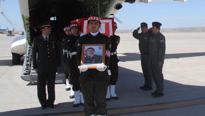 Şehit astsubay Yasin Tekin Niğde'ye uğurlandı