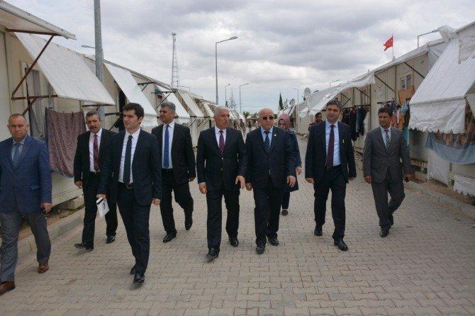 Müsteşar Yardımcısı Ercan Demirci Kilis'te