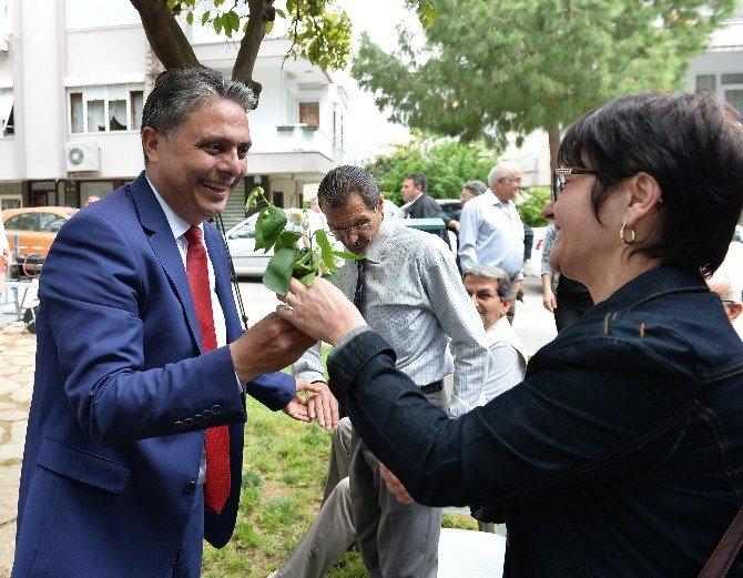 Başkan Uysal, Zerdalilik Mahallesi Halkıyla Buluştu