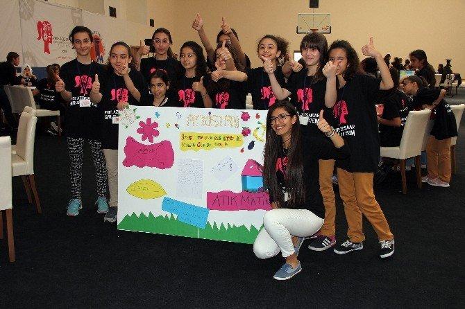 'Aziz Sancar Kız Çocukları İçin Stem' Projesinin Mersin Kampı Tamamlandı