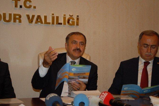 Burdur'un İçme Suyu Projesi Onaylandı