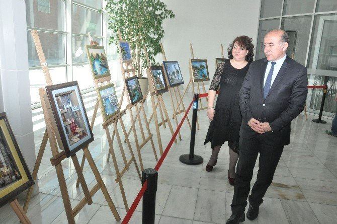 Merinos Akkm'de Ahşap Rölyef Sergisi