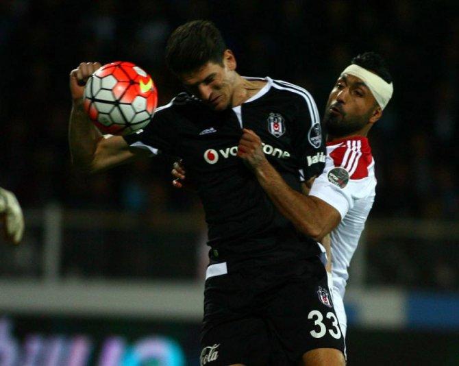 Medicana Sivasspor: 1 - Beşiktaş: 2