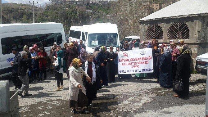 Tadem Kursiyerlerinden Bitlis'e Kültür Gezisi
