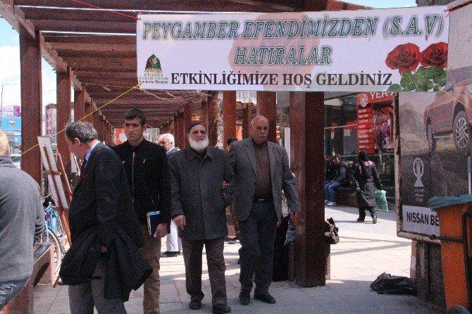 Van'da 'Peygamber Efendimizden Hatıralar' Konulu Sergi