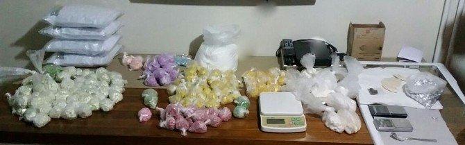 Küçükçekmece'de Uyuşturucu Operasyonu