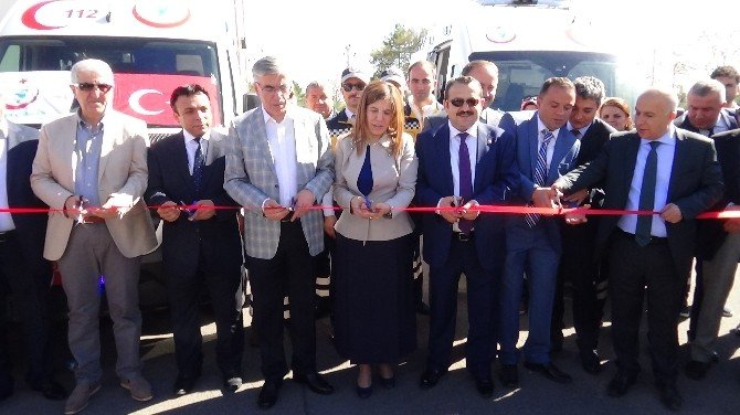 Aksaray'a 9 Adet Yeni Ambulans