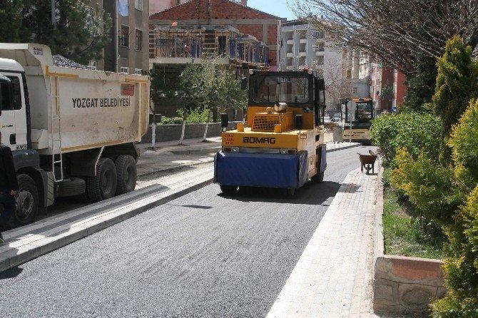 Yozgat Belediyesi Asfalt Çalışmalarına Başladı