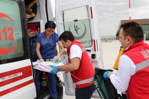Erken Doğan Bebeğe, Uçak Ambulans Sevk Edildi
