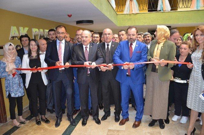 AK Parti Çorlu İlçe Teşkilatı Yeni Yerinde