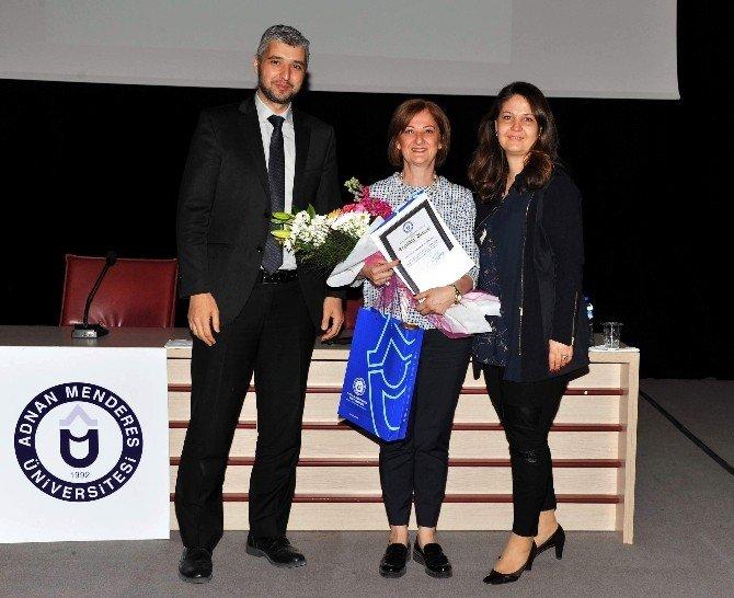 Prof. Dr. Filiz Balta Peltekoğlu, ADÜ'de 'Halkla İlişkileri' Anlattı