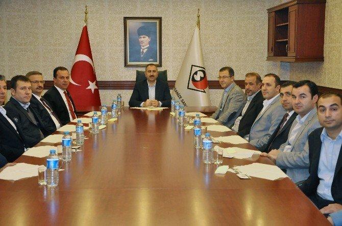 AK Parti Genel Sekreteri Gül'den Gaosb'ye Ziyareti