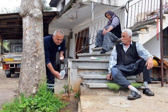 Antalya'nın İçme Suyu Sürekli Analiz Ediliyor