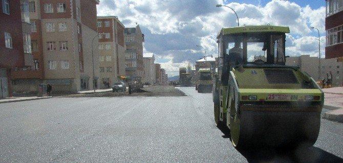 Büyükşehir, 2016 Asfalt Sezonunu Başlattı