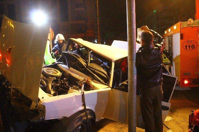 Biri Alkollü Diğeri Ehliyetsiz İki Sürücü Faciaya Neden Oldu