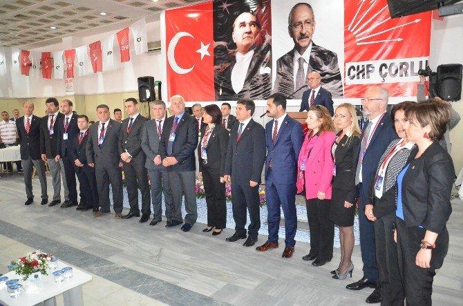 CHP Çorlu İlçe Başkanlığı`na İsmail Akar Seçildi
